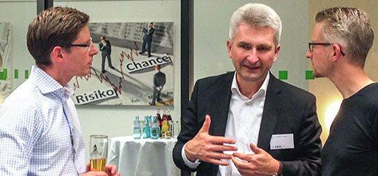 HHL Alumni Chapter Leipzig zu Gast bei SAM